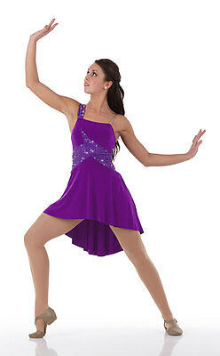 ad48a6867 Ballet Lyrical Dance Costume Dress Purple Sequin BEAUTIFUL Child Sizes & AXL