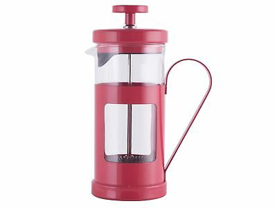 LA CAFETIERE Monaco Red 8 CUP FRENCH PRESS Coffee Maker Filter Plunger