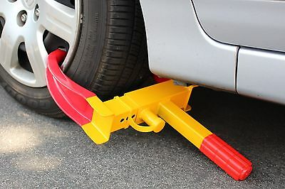 Wheel Lock Clamp Boot Tire Claw SUV RV Trailer Auto Car Truck Anti-Theft Towing