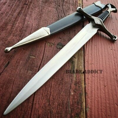 "13.5"" KING ARTHUR MEDIEVAL Historical SHORT SWORD DAGGER Knife Scabbard + SHEATH"
