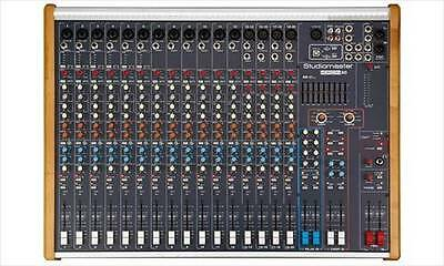 Studiomaster Horizon 20 Input Channels Mixer **NEW**