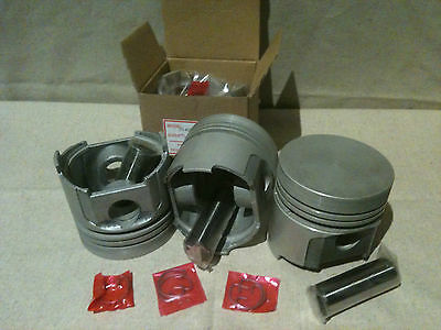 Kubota v1402 Pistons (set for 3 cyl) STD 85mm