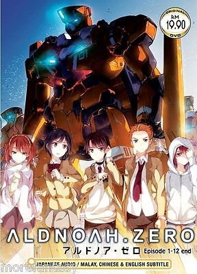 DVD Aldnoah.Zero Tv1-12  + Register Tracking