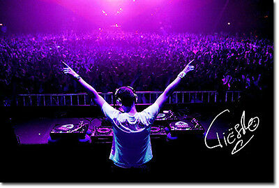 TIESTO - SIGNED PHOTO PRINT POSTER - HIGHEST QUALITY PRINT