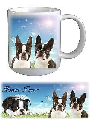 Boston Terrier Dog Ceramic Mug by paws2print