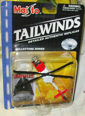 2001 MAISTO TAILWINDS USCG HH-60J JAYHAWK HELICOPTER SOME OF THE CARDS MAY HAVE