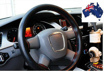 Diy Pu Car Auto Steering Wheel Cover With Needles And Thread