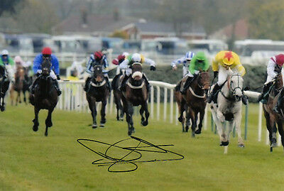 Daryl Jacob Neptune Collonges Hand Signed 6X4 Photo 2012 Grand National 7.