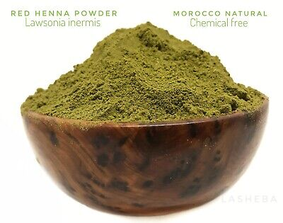 Red Henna Powder -Tazarine - Pure Organic Henna -Skin Mehndi-Natural Hair Colour