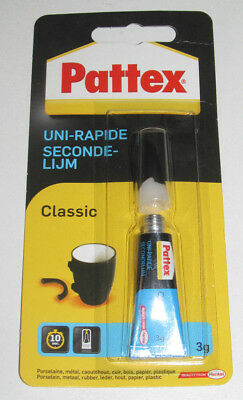 Tube de Colle Fixation Pattex Classic 3g NEUF