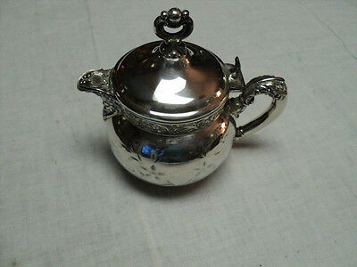 Vintage Silverplate Creamer Victorian Style