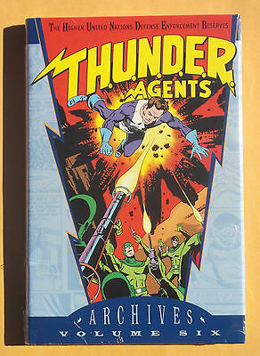 Thunder Agents Archives Volume 6 Graphic Novel New!! Mint!! Sealed!! DC Comics