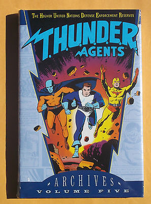 Thunder Agents Archives Volume 5 Graphic Novel New!! Mint!! Sealed!! DC Comics