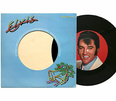 "Elvis Presley - It Won't Seem Like Christmas - 12"" Vinyl Single - * EXCELLENT *"