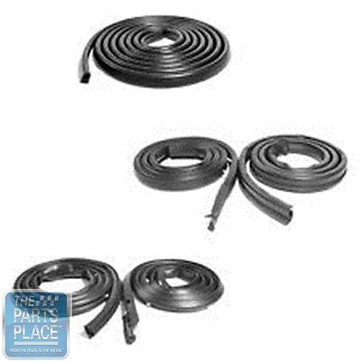 1971-74 Dodge Charger Weatherstrip Seal Kit - 5 Pieces @