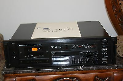 NAKAMICHI 670 ZX CASSETTE DECK FOR PARTS OR REPAIR
