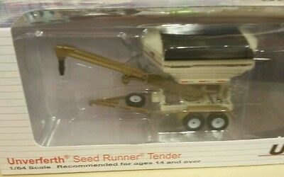 Brand new! 1/64 2750 Unverferth seed tender runner, very nice toy, Spec Cast