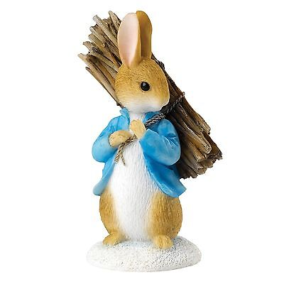 Beatrix Potter A26906 Peter Carrying Sticks Miniature Figurine