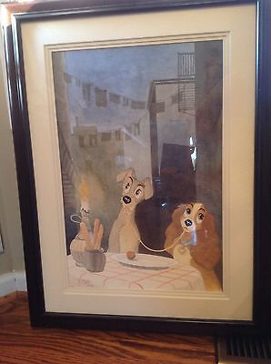 """Disney """"Lady and the Tramp"""" original by Patrick Block"""