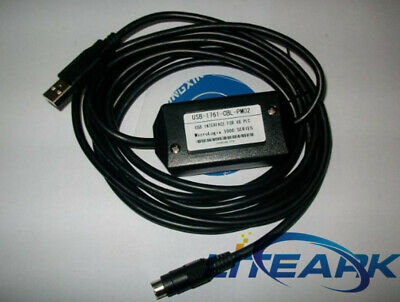 Allen Bradley Programming PLC Cable USB-1761-CBL-PM02 For Micrologix 1000 Series