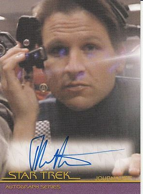 Star Trek Movies Heroes & Villains A130 John Putch autograph
