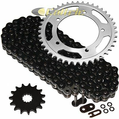 Caltric Red O-Ring Drive Chain /& Sprockets Kit Fits HONDA CBR600F4i CBR-600F4i CBR600 F4i 2001-2006