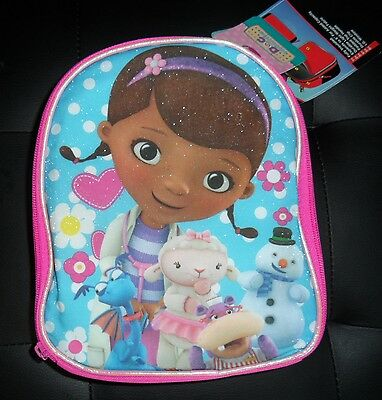 Girls Lunch Bag Sofia The First Doc Mcstuffins Minnie Mouse Expandable Nwt