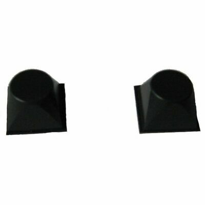 "Whites Pair of Peel & Stick Rubber Feet 1/2"" Rise Replacement Parts 802-5312"