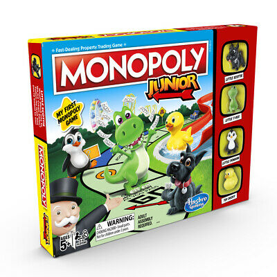 Monopoly Junior Board Game NEW