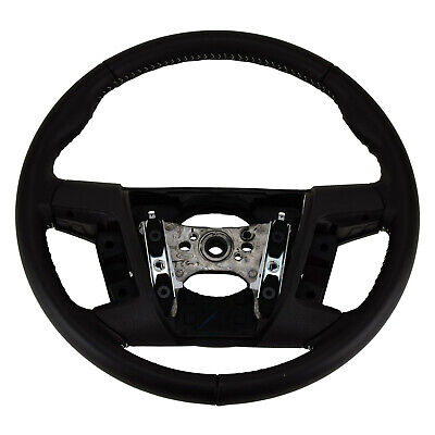 OEM NEW 2010-2012 Ford Fusion, MKZ Black Leather Steering Wheel 9E5Z3600DD
