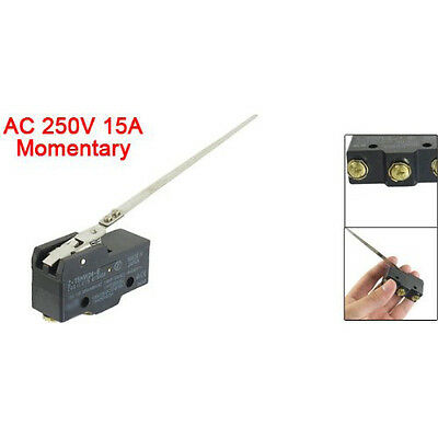 New AC 250V 15A Low-Force Hinge Lever Momentary Micro Switch Microswitch wt