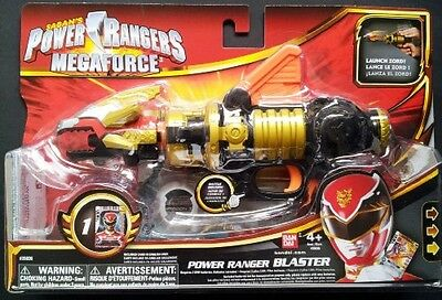 Power Rangers Megaforce Power Ranger Blaster, Free Shipping, New