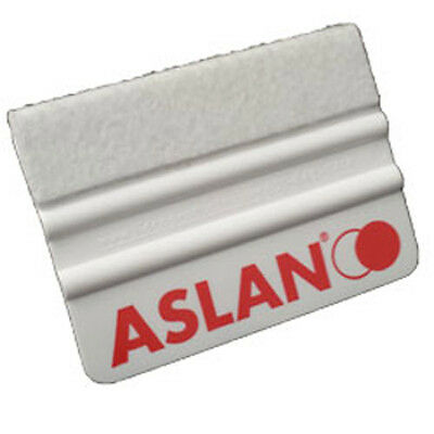 Vinyl Sign Applicator-  White felt plastic Aslan Squeegees / scraper - Pack of 5