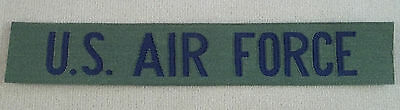 US Air Force Subdued Nylon Name Tape