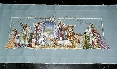 Schema Punto Croce  Presepe Natale Cross Stitch Christmas Nativity Scene