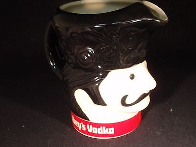 1970's Gibley's Vodka Pitcher - Promo - Advertising - Head