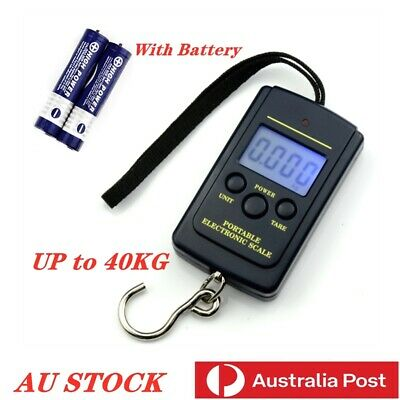 40KG/10G Electronic Portable Digital Luggage & Fishing & Traver Scale
