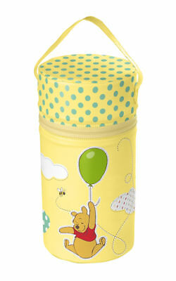 Warmhaltebox XXL Jaune Disney Winnie L'Ourson Thermobox Chauffe-Biberon Sac
