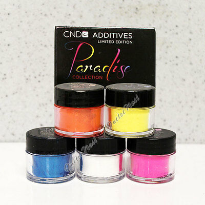 CND Additives Pigment Effect for Shellac Brisa Gel,Acrylic - PARADISE Collection