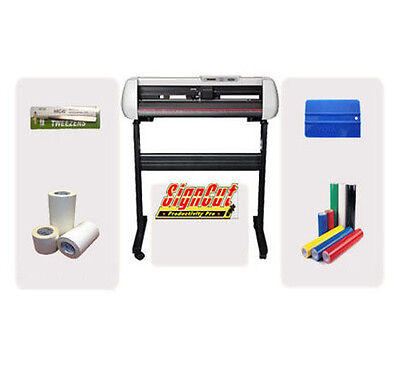 Good Quality LIYU SC631E Vinyl Cutter/ Cutting Plotter PACKAGE DEAL With SignCut