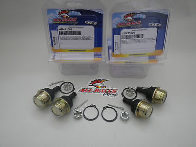 Yamaha YFM350 Bruin 2004-2006 Front Upper Lower Ball Joints 42-1009 - Set of 4