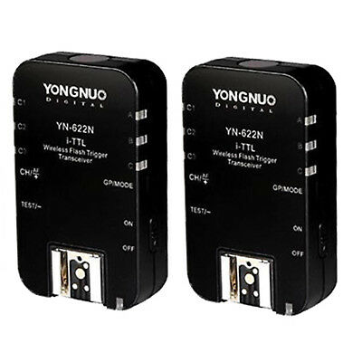 Yongnuo YN-622N Wireless TTL Flash Trigger Transceiver for Nikon Camrea US