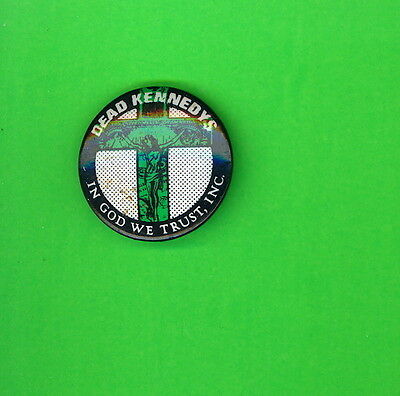 Dead Kennedys 1981 uk punk pinback button badge pin GG  ww