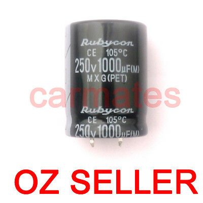 Capacitor 1000uf 250V 105°C 35X35mm for MSI LCD Monitor Screen Computer Rubycon