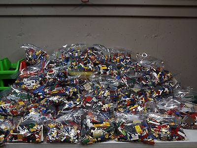 Lego 3 pounds Huge Bulk Lot! bricks blocks w/ 3 MINIFIG @Buy It Now Price! LBS!!