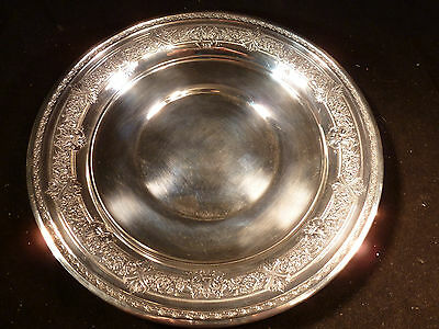 "Antique Rare International Sterling Silver 925 ""renaissance"" Salver Platter Tray"