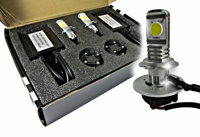 Kit Xeno H7 Lampade A Led Cree  Full Led 6000K Digitale Ballast Xenon Bianca
