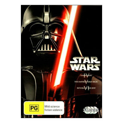 Star Wars: Original Trilogy IV, V, VI DVD  Brand New  Mark Hamill, Harrison Ford