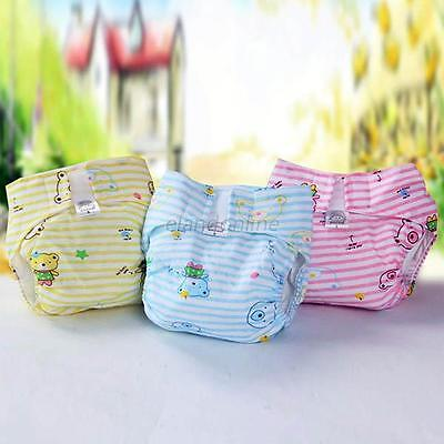 Newborn Baby Infant Reusable Washable Nappy Covers Insert Soft Cloth Diapers E75