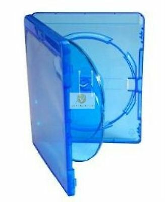 10 Blu ray 3 Way Case 14mm Spine for Holding 3 Disk New Replacement Amaray Cover